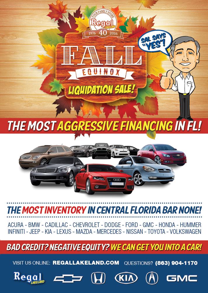 Regal Lakeland Fall Specials