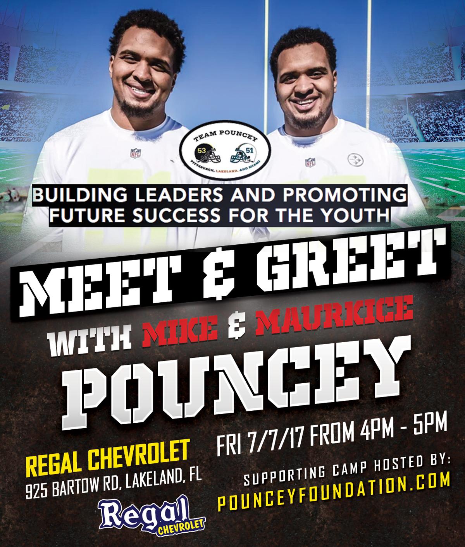 Regal Chevy NFL Meet